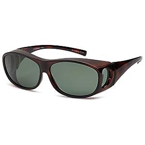 ClipShades Polarized Fit Over Sunglasses for Prescription Glasses