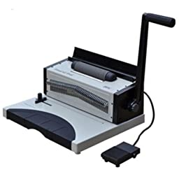 DFG TitanCoil Oval Electric & Manual Coil Binding Machine