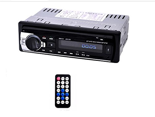 CCLOON Bluetooth Stereo Receiver 12V Car Stereo FM: Amazon.co.uk: Electronics