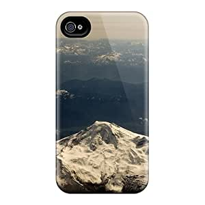Tpu Case Cover Compatible For Iphone 4/4s/ Hot Case/ Mountain