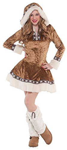 SNOW BUNNY TEEN SMALL (Girls Snow Bunny Costume)