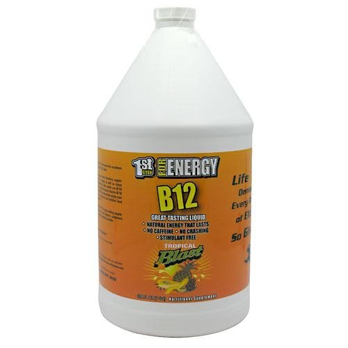 1st Step for Energy B12 - Tropical Blast - 128 fl oz (1 gal) by 1st Step for Energy