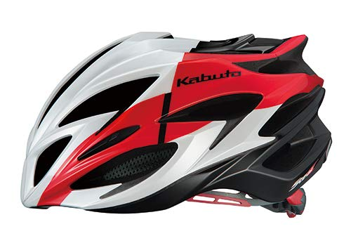 OGK KABUTO(オージーケーカブト) ヘルメット STEAIR コルサレッド サイズ:L/XL (頭囲 59cm-61cm)