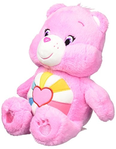 Care Bear Plush (Care Bears (w/o Dvd) Hopeful Heart Plush, Medium)
