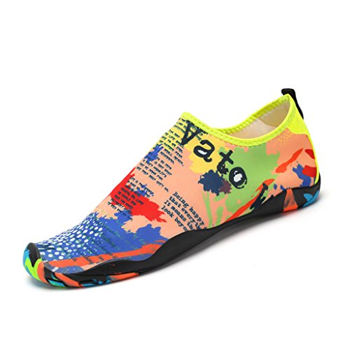 Nager Bain Aquatique pour Sport Plage Chaussures Chausson Surf Antid de SAGUARO Respirant 10Raq0