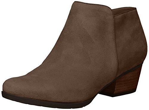 - Blondo Women's Villa Waterproof Ankle Boot, Dark Taupe Suede, 7 M US