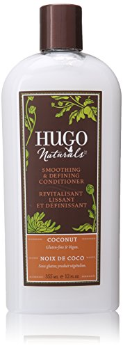 Hugo Naturals Smoothing and Defining Conditioner, Coconut, 1
