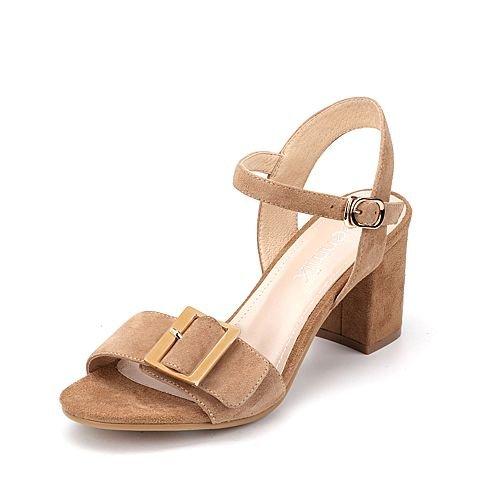 Moda Mujer verano sandalias confortables,42 azul apricot