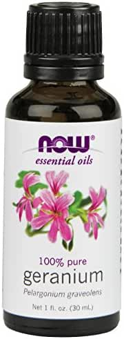 Now Foods Geranium Pelargonium Graveolens Oil, 1-Ounce