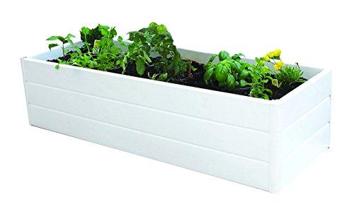 Cheap NUVUE Products Patio Garden Box 16″Wide x 44.5″ Long x 11.5″ High – White