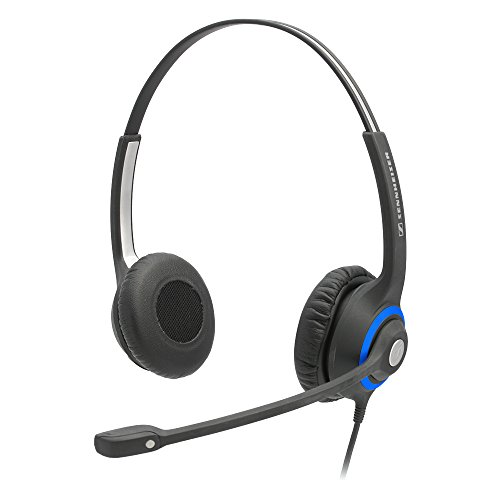 Sennheiser Amps (Sennheiser DeskMate Dual-Ear Corded Office Telephone Headset with Noise-Canceling Microphone.)