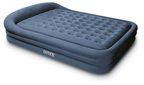 Amazon Intex Comfort Frame Rising Queen Airbed Camping Air Mattresses Sports Outdoors