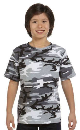 - Code Five Youth Camouflage T-Shirt, Medium, Urban Woodland