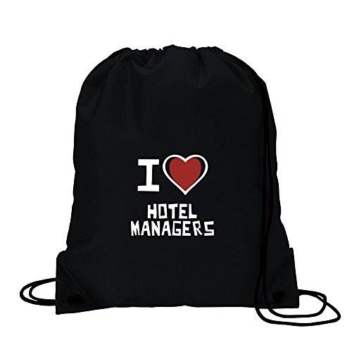 I love Hotel Manager Sport Tasche