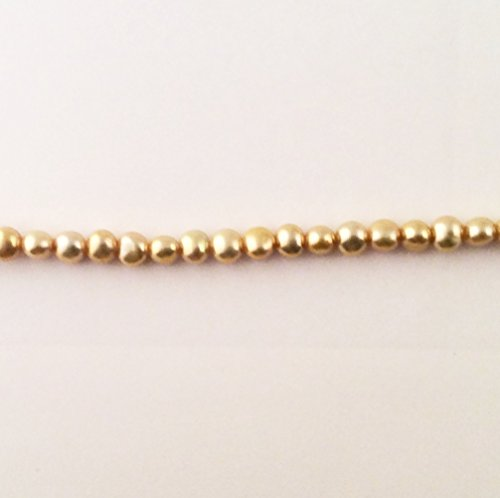 Imagine If...Beads Fresh Water Pearls Champagne 6-7mm Loose Beads for Jewelry Making