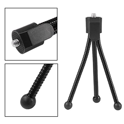 Universal Flexible Mini Portable Metal Tripod Stand Holder for Digital Camera Mini DV Projector Travel Accessory
