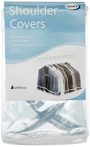 Whitmor Protective Shoulder Covers, S/6