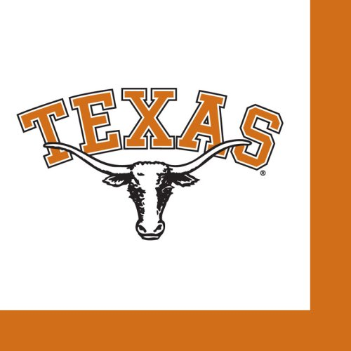 Home Décor University of Texas Longhorns Cocktail Napkins]()