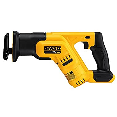 DEWALT DCS387B 20-volt MAX Compact Reciprocating Saw (tool only).