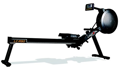 LifeCORE Fitness R90 Rowing Machine - Indoor Rower for Garage Gym - Cardio Interval Training at Home