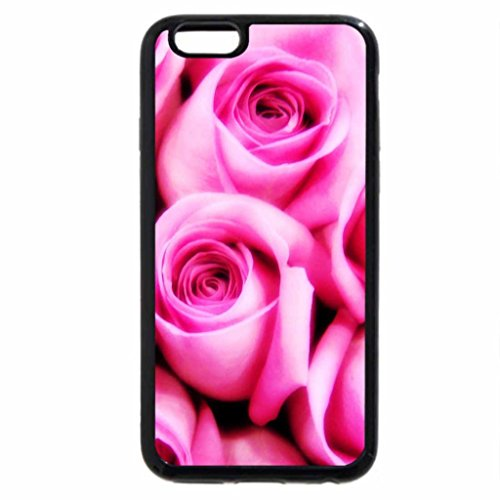 iPhone 6S / iPhone 6 Case (Black) Flowers and Leafs 45
