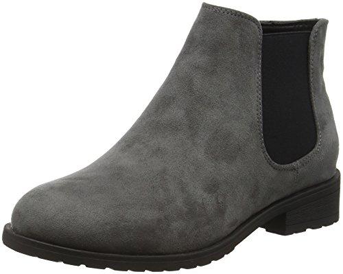 New Look Wide Foot Danielle, Botines Mujer Gris (Grey/04)