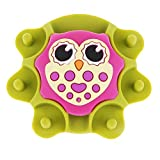 Flameer Small Owl Rubber Pin Cushion Sewing Caddy for Embroidery Quilting Machine