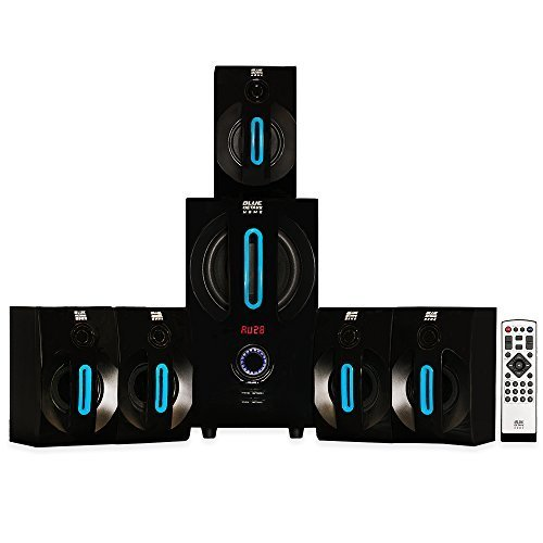 Blue Octave Home B52 5.1 Surround Sound Bluetooth Home Entertainment - Center Rear 12' Panels