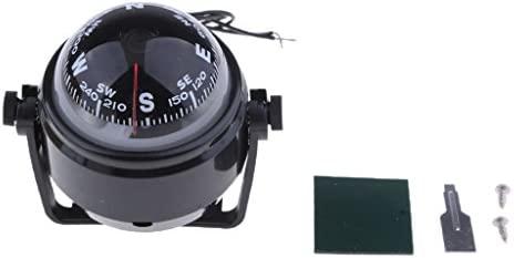 Marine Boat Compass with Mount Kit for Caravan Truck Car Sailing Navigation