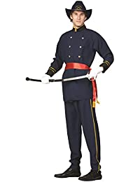 Adult Union Officer Costume - Sword, scabbard, hat and shoes not included.