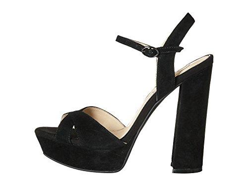 Jessica Simpson Women's Naidine Dress Sandal, Black, 9 M US