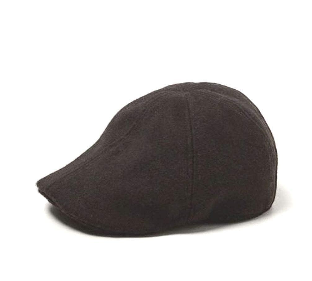 35383d45a8 Zara Men Derby Hat Wool Blend Black Medium: Amazon.ca: Clothing ...