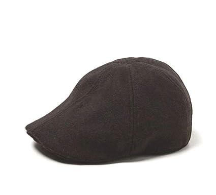 301e8fb5a2 Zara Men Derby Hat Wool Blend Black Medium at Amazon Men's Clothing ...