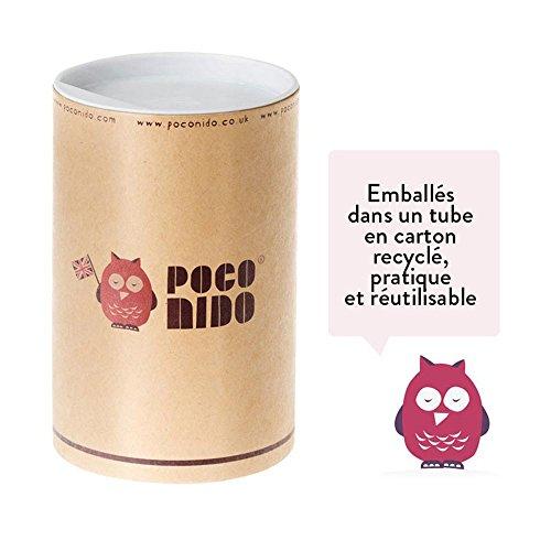Mini Hausschuhe Violett aus Baumwolle und Wildleder People–Nido Poco