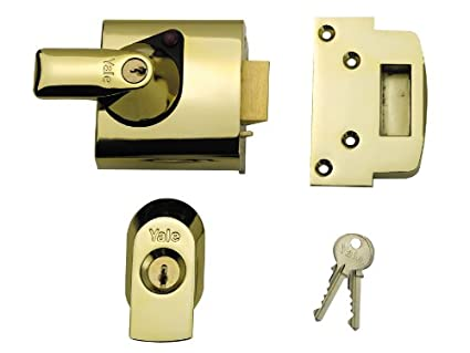Yale Locks BS1 Visi Pack - Cerradura de seguridad BS (6 cm), color