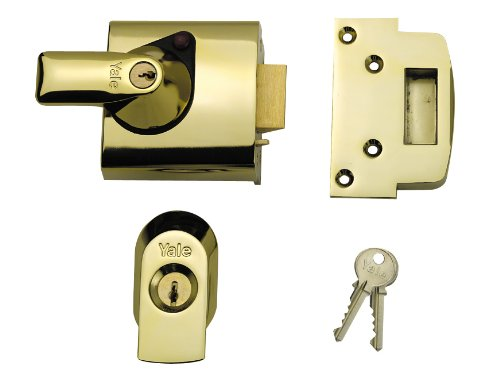 Price comparison product image Yale BS3621 Cyl Rim Lock Brass 60MM
