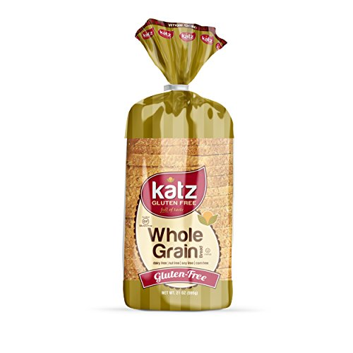 Katz, Gluten Free Whole Grain Bread, 21 Ounce, (1 Pack) (Grain Bread Whole Gluten Free)