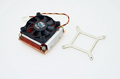 Cooler Master Socket G2 Copper Heat Sink Cooling Fan for Intel Core i7-3940XM SR0US Mobile Extreme Edition CPU FCPGA988 988-Pin by PartsCollection® (Image #2)