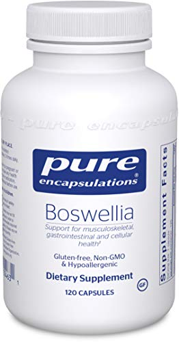 Pure Encapsulations – Boswellia – Herbal Support for Minor Joint Discomfort* – 120 Capsules