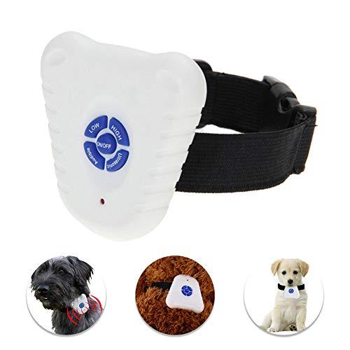 - Ultrasonic Anti-Bark Dog Collar Waterproof, NO Shock NO Pain Stop Barking Pet Training Collar, Safe Gentle and Effective Weatherproof