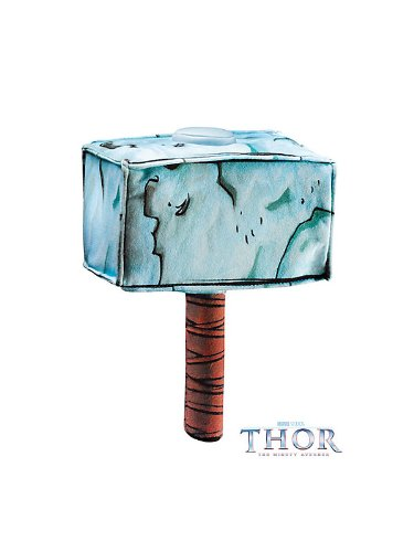 Soft Thor Hammer Costume Accessory