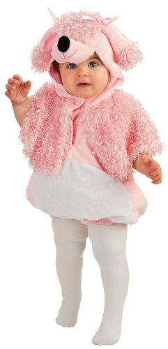Rubie's Deluxe Baby Poodle Woodle Costume - Toddler (1- 2 Years) (Halloween Costumes International Shipping)