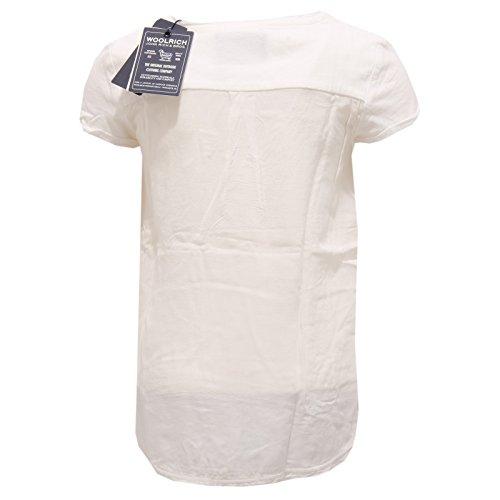 T Bimba Dyed Garment Woolrich 2018s Avorio Girl shirt Maglia xwA7ZZFP