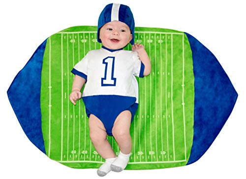 Princess Paradise Swaddle Wings Baby Costume, Football, 0 to 3 Months]()