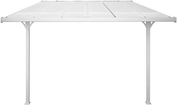 Evergreen - Pérgola de aluminio con techo de policarbonato ...