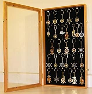 Amazon com: Keychain Display Case Wall Mounted Cabinet