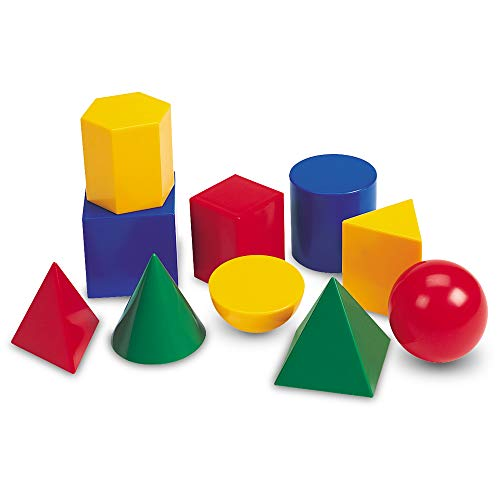 Learning Resources Large Geometric Shapes, 10 Pieces ()
