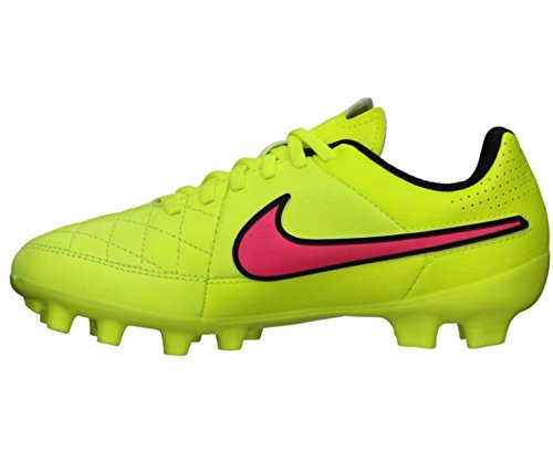 Nike Kids Jr Tiempo Genio Leather FG Soccer Cleat Volt/Volt-black UTp6dl
