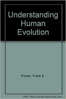 Book Understanding Human Evolution