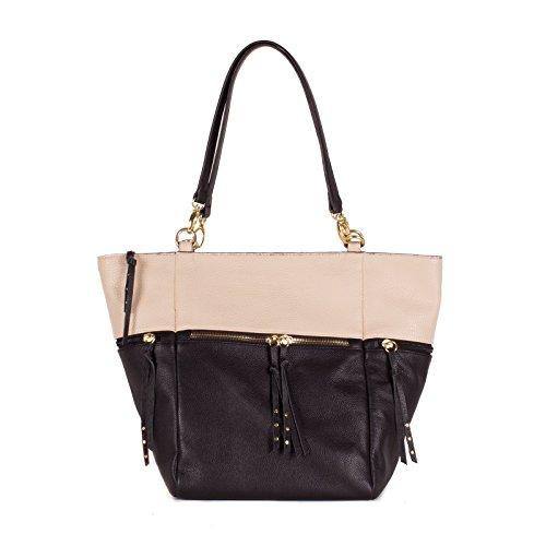 olivia-joy-liv-women-handbag-bloc-leather-handle-tote-shoulder-bag-black-beige